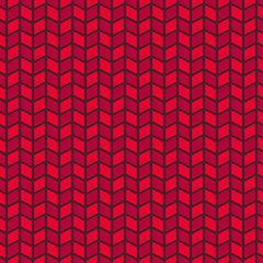 Passionate vector seamless pattern (tiling). Hot red color