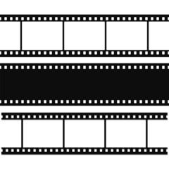 Blank simple film strip set