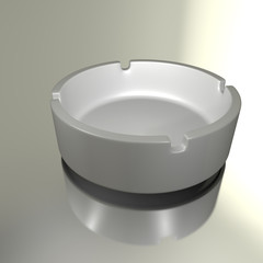 illustration of an ashtray