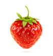 Ripe strawberry, vector illustration
