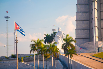 Jese Marti memorial in Revolution Square, Havana, Cuba