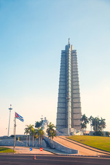 Revolution Square in Havana, Cuba