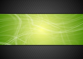 Abstract tech background with lines