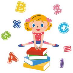 子供 勉強 女の子
