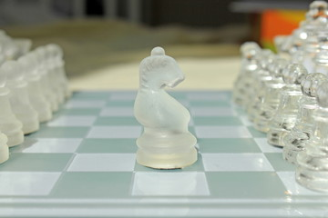 Glass chess