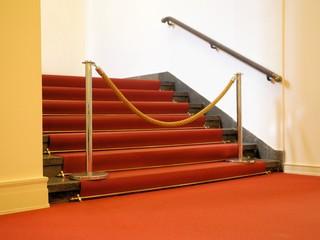 Treppe gesperrt