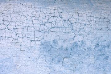 Weathered metallic wall