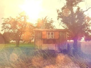 Little home in summer