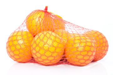 Oranges in the string bag