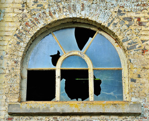 Window of an abandoned building