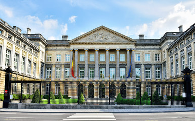 Building of The Belgian Federal Parliament