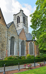 Saint Gery church in Braine-le-Compte, province Hainaut