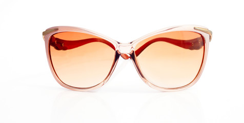 Female elegant sunglasses from the front