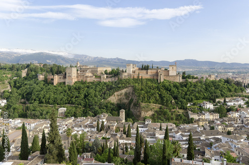 canvas print picture Granada 2586