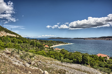 Orebic beach in Croatia
