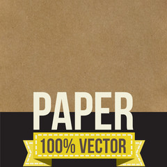 Texture of crumpled paper. Vector illustration.