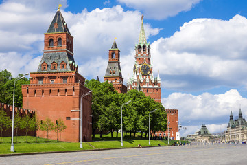 tower of Moscow Kremlin, Russia