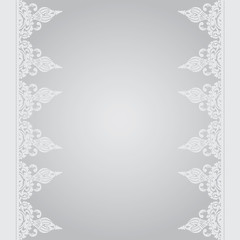 Vector background in east style gray