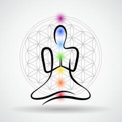 meditation blume des lebens mitte