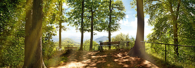 Dreiseenblick im Siebengebirge