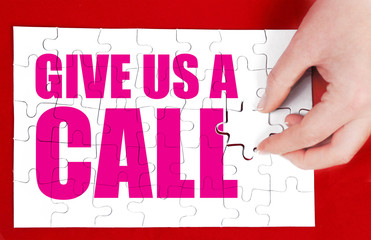 give us a call advertisement