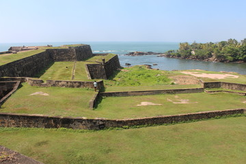 Galle fort, Sri Lanka.
