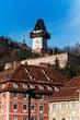 Österreich, Steiermark, Graz, Uhrturm