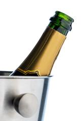 Champagner in Sektkübel