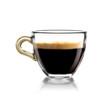 Caffè in tazza di vetro - 67238746