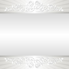 shine background with floral ornaments