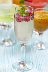 Limoncello raspberry cooler