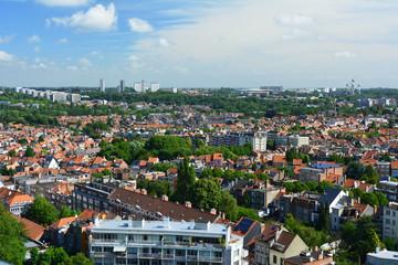 Vue panoramique de Bruxelles