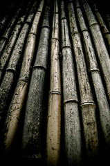 Background Of Dirty Bamboo