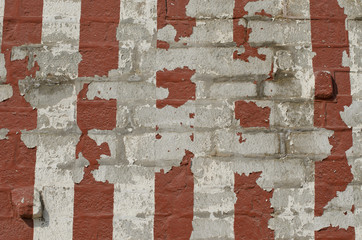 old striped wall background