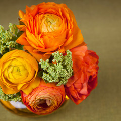 Bouquet of  ranunculus flower