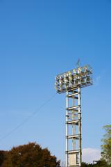 競技場の照明設備