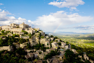 Gordes, one of the most beautiful and most visited French villag