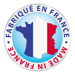 Fabriqué en France. Made in France.