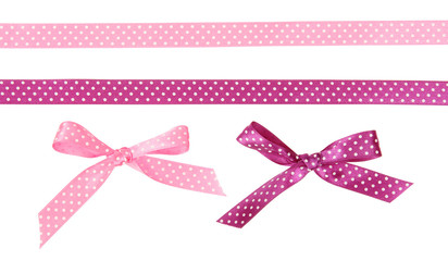 Ribbons and bows dots of them