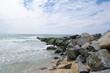 Felsbuhne in Lacanau Ozean 3