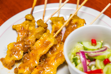 Thai Pork Satay, 'Moo Satay'
