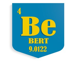 name bert on shield instead chemical element