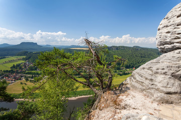 Saxon Switzerland National Park - Bastei, Germany