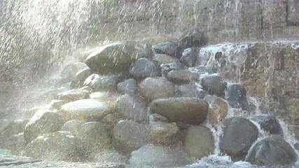 荒々しい滝の流れ Part 1