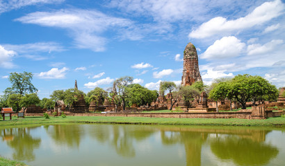 Historic Site in Ayutthaya Thailand