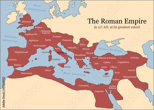 Roman Empire Provinces - 67244102