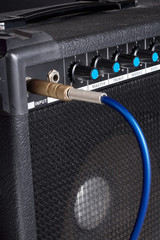 Amplifier for an electric guitar