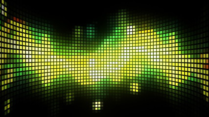 Dance Music Light Box Background