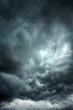 Leinwandbild Motiv Stormy clouds