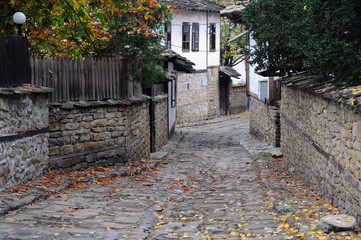 Narrow Street in Lovech